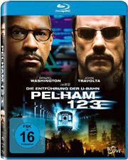 < Blu-ray * DIE ENTFÜHRUNG DER U-BAHN PELHAM 123 - Denzel Washington # NEU OVP