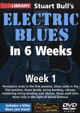 LICK LIBRARY Stuart Bull's ELECTRIC BLUES GUITAR In 6 WEEKS David Gilmour DVD 1