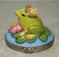 New Prince Frog, Limoges Box Number 17 New