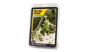 Woodland Scenics F1131 Fine Leaf Foliage Medium Green 75 cu in