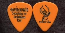 David Bowie 2002 Jackalopes Tour Guitar Pick! custom concert stage Pick #8