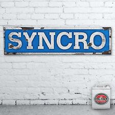 1700 x 430mmm VW SYNCRO Banner   heavy duty,  workshop, garage, man cave retro