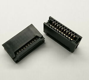 2 PCS. 20-Pin Card Edge Female IDC connector 2.54mm pitch flat ribbon cable