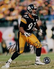 Kendrell Bell Pittsburgh Steelers Hand Signed 8x10 Autographed Photo W/COA KB 11