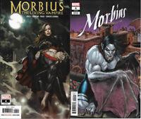 2020 Marvel Comics Morbius Living Vampire 4 Main & Variant Covers 2 Book Lot