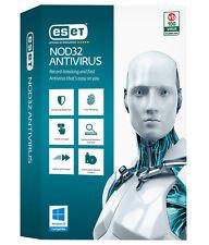 Eset NOD32 Antivirus 2017 (New version 10) 1 PC 1 year/an free updates