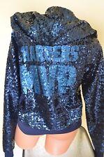 Victoria's Secret love pink sweatshirt hoodie sequin jacket San Diego Chargers L