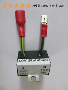 Voltage Stabiliser 10v Electronic – classic Triumph, TR, MG, L-Rover (as BR13xx)