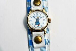 Cinderella  Vintage Bradley Wind Up  Watch  Swiss Made 1974 Running