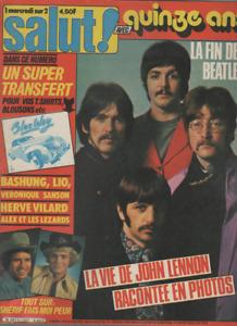 Magazine Salut ! n° 137 Beatles Lio Bashung Sanson Chantal Goya Jacno Taxi Girl