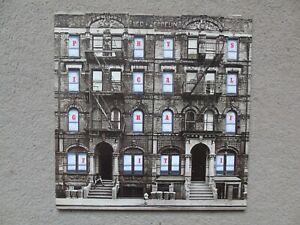Led Zeppelin Physical Graffiti UK Swan Song Double LP 1st Issue Prog Rock    209