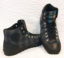 NEW Converse Chuck Taylor STREET HIKER WOOLRICH Black Thunder Cyan 149385 Men 13