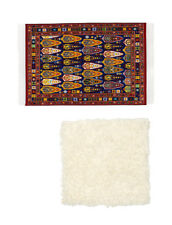 Lundby 60.4032 Smaland Teppich Set für Puppenhaus in 1:18