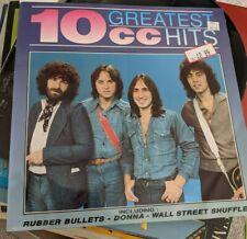 New listing RARE 10cc LP GREATEST HITS BRE 1990 UK MINT VINYL EXC COVER ORIGINAL PRICE STKRS