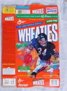 WALTER PAYTON BEARS Legend's of the NFL Wheaties Cereal Box