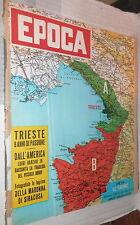 EPOCA 18 Ottobre 1953 Trieste Bobby Greenlease Giovanni Andalini Scarpetta di e