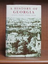 A History of Georgia, *Signed* 1st  NF/VG+ University of Georgia