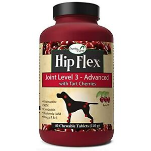 Overby Farm Hip Flex Level 3 Advanced Care with Tart Cherries Joint Support