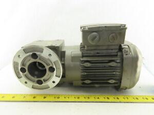 Sew Eurodrive WAF20 DRS71S4 39:1 Ratio 44 RPM 0.18kW 3Ph 440-480V Gear Motor