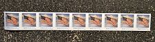 2016USA #5052 Forever U.S. Flag US PNC Coil Strip of 9   #S11111  Mint  (SSP)