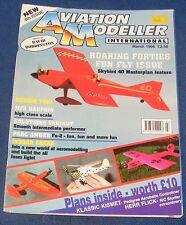 AVIATION MODELLER INTERNATIONAL MARCH 1996 - SKYBIRD 40 MASTERPLAN FEATURE