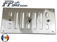 Prise d'air / Grille inox 316 à lamelles réglable 152 x 76 mm