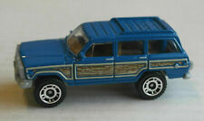 Matchbox 1989 Jeep Grand Wagoneer blau/Woodie SUV Mattel Auto Car MBX blue ´89