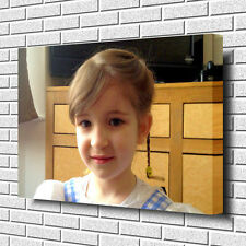 """YOUR PERSONALISED PHOTO PICTURE PRINT on to a Box Canvas A1.30""""x20""""~Deep Frame"""