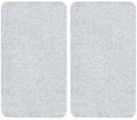 Wenko 2712800100Hob Cover Set of 2Transparent Covers for Glass-Ceram
