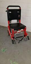 Ferno EZ Glide 59T Track Stair RED Chair EMS EMT GURNEY