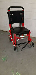 Ferno EZ Glide 59T Track Stair RED Chair EMS EMT GURNEY