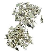 Wholesale 150pcs Glue on Bails Findings Antique Silver Cabochon Pendant DIY