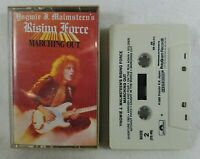 Yngwie Malmsteen Rising Force Marching Out Cassette Tape 1985 Polygram