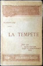 William Shakespeare, La tempête, Ed. Henri Gautier, 1894