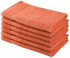 High Quality 6 Pack Cotton Salon, Hand, Gym, Spa Towels Large 16 x 28 in. 700GSM
