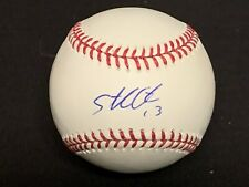 Starlin Castro Chicago Cubs Nationals Yankees Autographed Signed Baseball