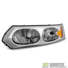 2003-2007 Saturn ION 4 Door Sedan Headlight Headlight Left Driver Side 04 05 06
