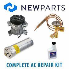 Fits Isuzu Rodeo 1998-1999 Complete A/C Repair Kit With NEW Compressor & Clutch