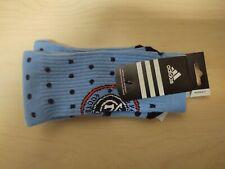 NEW ADIDAS MLS New York City FC Womens Blue Socks C432W-MTC