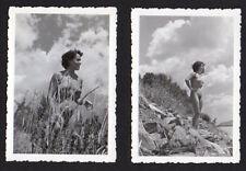 Nude Woman outdoors 2 ORIG PHOTOS by Alexander Baege German photographer