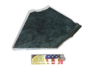 Blue Dream Jade Thick Irregular Slab (Lapidary or Jewelry Rough - Nephrite)