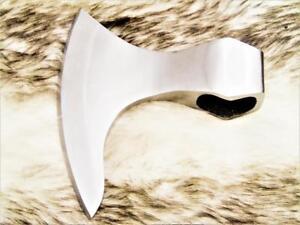 Axt Klingen High Carbon Stahl handverarbeitet Wikinger MAQ2410