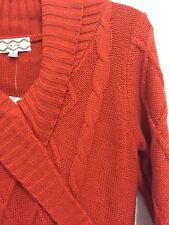 NWT Pink Rose Sweater Dress V-Neck Pullover Juniors Size Medium