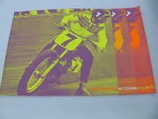 Original 1972 Harley Davidson Race Poster Columbus Mert Lawwill