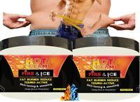 Lipo Fat Burner Loss Weight Tummy Slimming Fitness Body Sweat Gel Abs Cream 2G