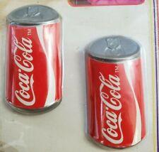 VINTAGE Coca Cola advertising fridge magnet set 1985 original package Coke #483