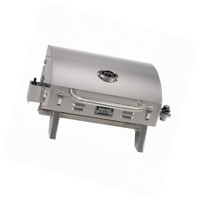 Smoke Hollow 205 Stainless Steel, Portable Table Top Propane Gas Grill. Perfect