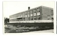 RPPC High School at ATLANT MI Michigan Real Photo Postcard