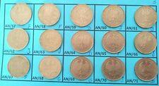 LOT 15 X 2 Deutsche mark Max Planck de 1957 à 1971