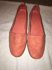The Flexx Women Slip On Loafers Sz 7.5 Pink